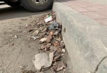 Грязь на улицах Пензы