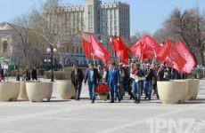 Пензенцы отметили день рождения Ленина