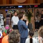 Акция 1PNZ и ТРЦ «Коллаж» - «Попади в зеленый телевизор». Фотоотчет – часть 1
