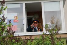 Парад у дома ветерана 07.05.2020