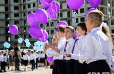День знаний с полпредом В. Путина: новую школу в Арбеково посетил Игорь Комаров