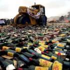 Пензенские судебные приставы уничтожат 20 тонн контрафактного алкоголя