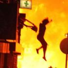 Кузнечанку, выпрыгнувшую из окна во время пожара, доставили в саратовскую больницу