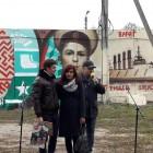 Граффити с портретами великих музыкантов украсили стены в ДШИ «Лира»