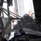 В Пензенской области многотонный «КамАЗ» сгорел дотла