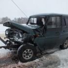 В Сурске столкнулись русский внедорожник и «БМВ». Пострадала женщина