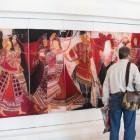 В Пензенской филармонии открыта выставка Татьяны Чагоровой «Живая старина»