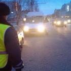 Сотрудники ГИБДД поймали четыре перегруженные маршрутки на Проспекте Строителей в Пензе