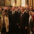 Иван Белозерцев рассказал, о чем молился на рождественской литургии
