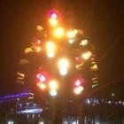 В Пензе снова засветило «Светофорное дерево»