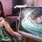 Художник-пастелист из Пензы рисует известные мультики