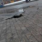 Качество от «SKM-group». Плитка на Московской продолжает обваливаться спустя 4 года после укладки
