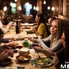 В «Заметном месте» прошел вечер элитных гостей и изысканных блюд