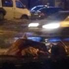 В Пензе на ГПЗ-24 на дорогу рухнула металлическая конструкция