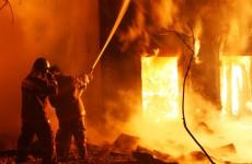 В Земетчинском районе дотла сгорел деревянный дом