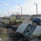 В Пензенской области «Лада Калина» сбила пешехода и опрокинулась в кювет