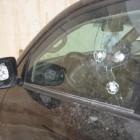 В Арбеково неизвестные расстреляли автомобиль