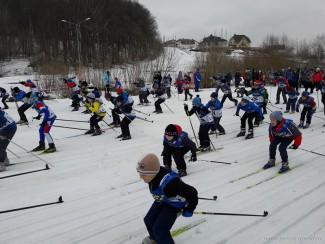 В Первенстве города Пензы приняли участие около 400 лыжников