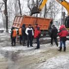 Ликвидирован разрыв водопровода на улице Пушкина