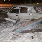 «Волга» против 5 машин ДПС. Пьяный зареченец устроил гонки, разбил машину и выжил