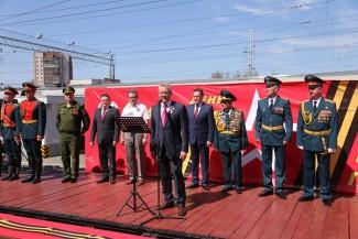 В Пензу прибыл агитпоезд «Армия Победы-2017»