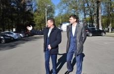 В Пензе у больницы Бурденко заработает платная парковка