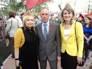 «Союз женщин России» принял участие в торжественном открытии сквера «Бессмертный полк»