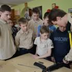 В Пензе в храме Петра и Февронии Муромских школьники провели тренировки с автоматом «АК-47»