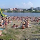 Жители Пензы открыли купальный сезон