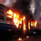 В товарном поезде, ехавшем из Пензы в Ртищево, случился пожар