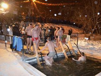 В Пензе готовятся к крещенским купаниям