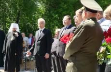 Белозерцев, Мельниченко и Кривозубов открыли памятник Бочкареву