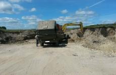 В Шемышейском районе неизвестные незаконно добывали полезные ископаемые