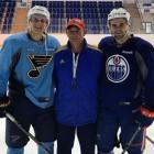 Два хоккеиста НХЛ готовятся к сезону в Нижнем Ломове