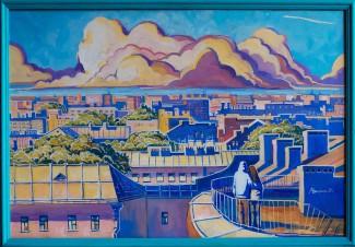 Питерский меценат купил картину для пензенского «Квартала Луи» после сюжета на «Первом»