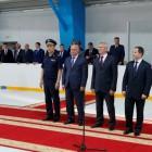 Белозерцев и Бабич открыли ледовый дворец имени Бочкарева в Нижнем Ломове