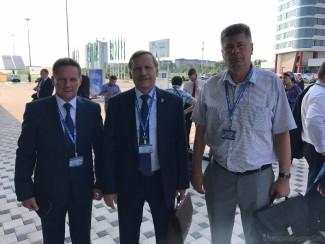 Виктор Кувайцев, Дмитрий Семенов и Валерий Лидин отправились в Краснодар