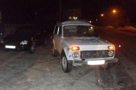 В Кузнецке столкнулись «Нива» и «Лада Приора», есть пострадавший (фото)