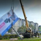 В Пензе «красуются» около 100 незаконных рекламных щитов