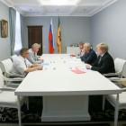 Иван Белозерцев обсудил с Александром Бариновым ремонт гидротехнических сооружений в регионе