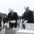 В Пензе торжественно заложили первый камень в строительство школы на Шуисте