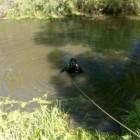 В Пензенской области спасатели выловили из воды автомобиль с трупом женщины