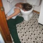 Поход в туалет для жительницы Пензы закончился неприятной неожиданностью