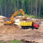 Под Пензой расхитители песка были пойманы с поличным