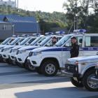 В Пензе полицейским подарили 48 автомобилей «УАЗ Патриот»
