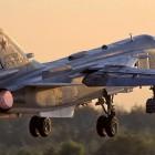 Российский Су-24 разбился в Сирии при взлете