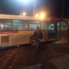 Новость читателя: пензенский автобус въехал в остановку (фото)