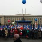 Сотни пензенцев собрались на площади имени Ленина в День народного единства