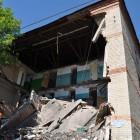 Дом №35 на Ударной разрушился еще больше. Оставшиеся жильцы игнорируют