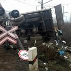 В соседней от Пензенской области поезд протаранил грузовик